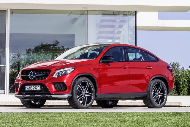 Mercedes-Benz GLE Coupé a noleggio a lungo termine
