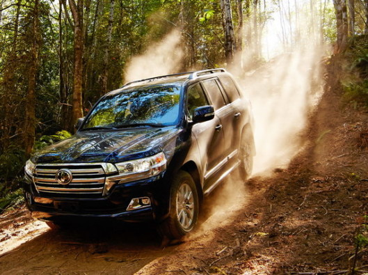 Toyota Land Cruiser V8 a noleggio lungo termine