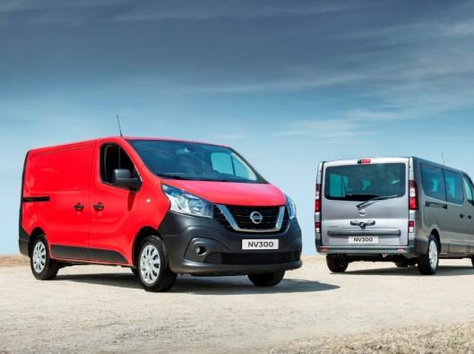 Nissan NV300 Van and Combi a noleggio lungo termine