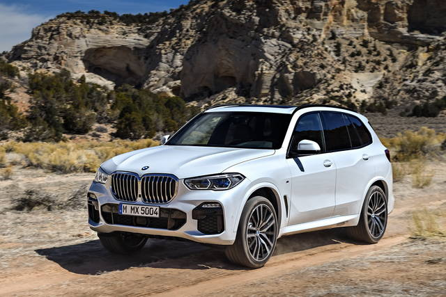 Nuova BMW X5 a Noleggio Lungo Termine
