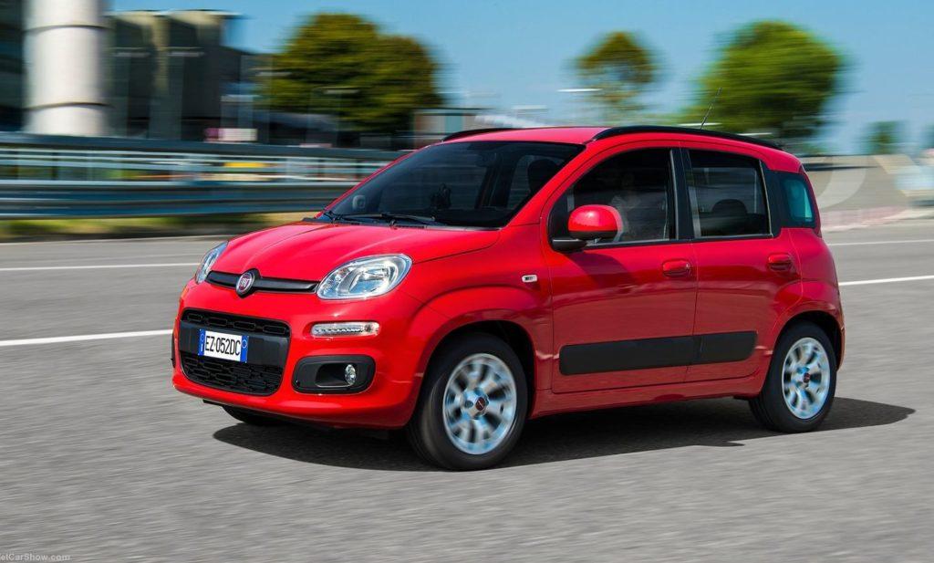 Fiat Panda - le auto più noleggiate in Italia