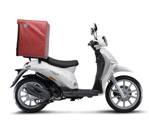 Scooter noleggio lungo termine per consegna a domicilio