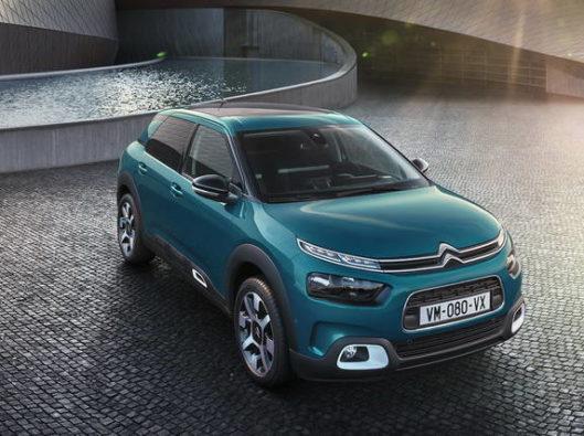 Citroën C4 Cactus a noleggio lungo termine economico