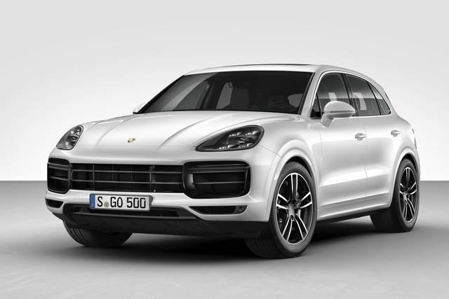 Porsche Cayanne a noleggio lungo termine