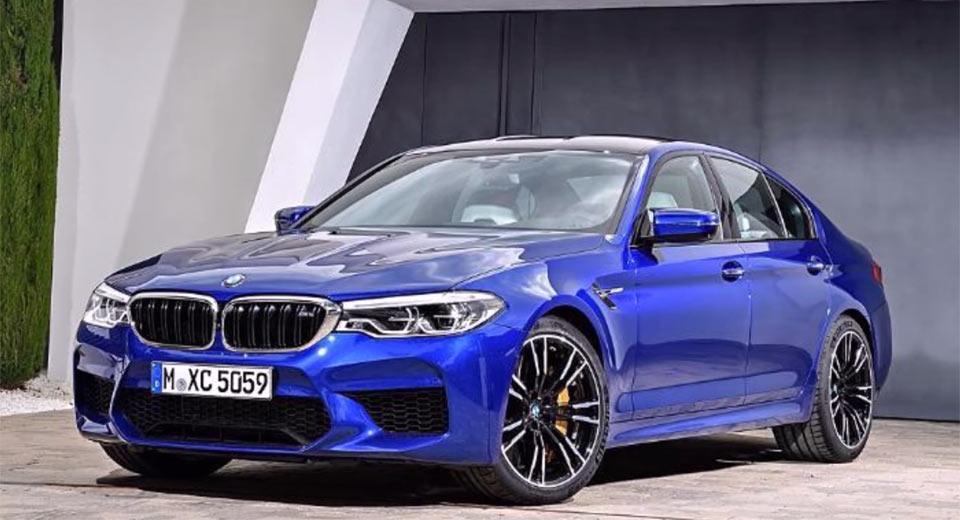 2018-BMW-M5 a noleggio lungo termine