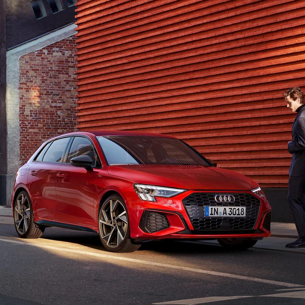 Audi A3 sedan a noleggio